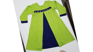 New style baby frock 2019 cutting and stitching