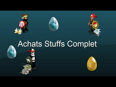 Dofus achats des stuffs complet youtube for Snouffle dofus