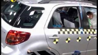 Краш-тест - Suzuki SX4 2006 (E-NCAP)