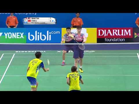 BWF World Junior Mixed Team Championships 2017 | Badminton F - Malaysia vs China