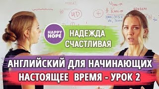 АНГЛИЙСКИЙ для НАЧИНАЮЩИХ - Урок 3. СТРОИМ ПРЕДЛОЖЕНИЯ. Методика Надежды Счастливой