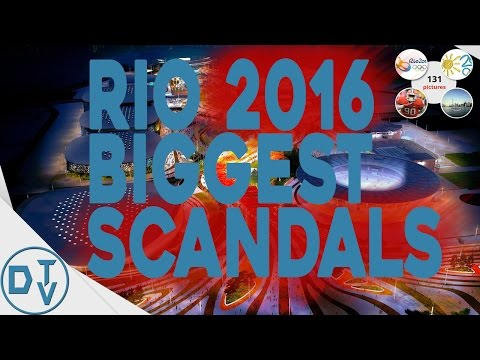 Rio Olympic Games 2016 Biggest Gossips/Scandals | Top 10