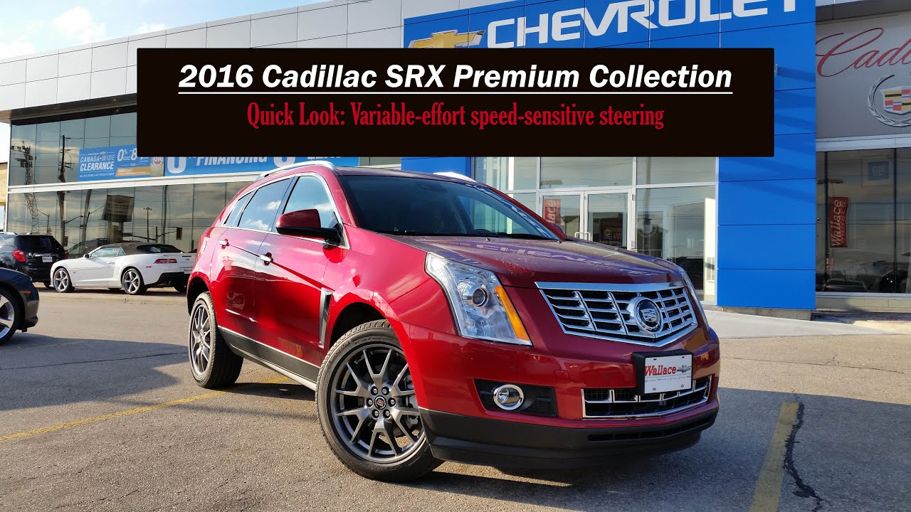 cadillac review crossover