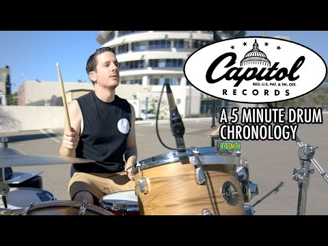 75 Years of Capitol Records: A 5 Minute Drum Chronology - Kye Smith [4K]