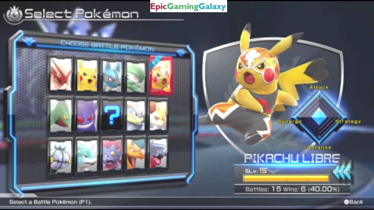 full default character roster revealed for pokken tournament youtube