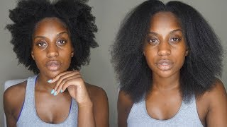 The PERFECT Quick BLOW OUT on NATURAL HAIR!