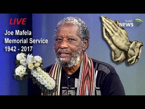 Joe Mafela memorial service, 23 March 2017