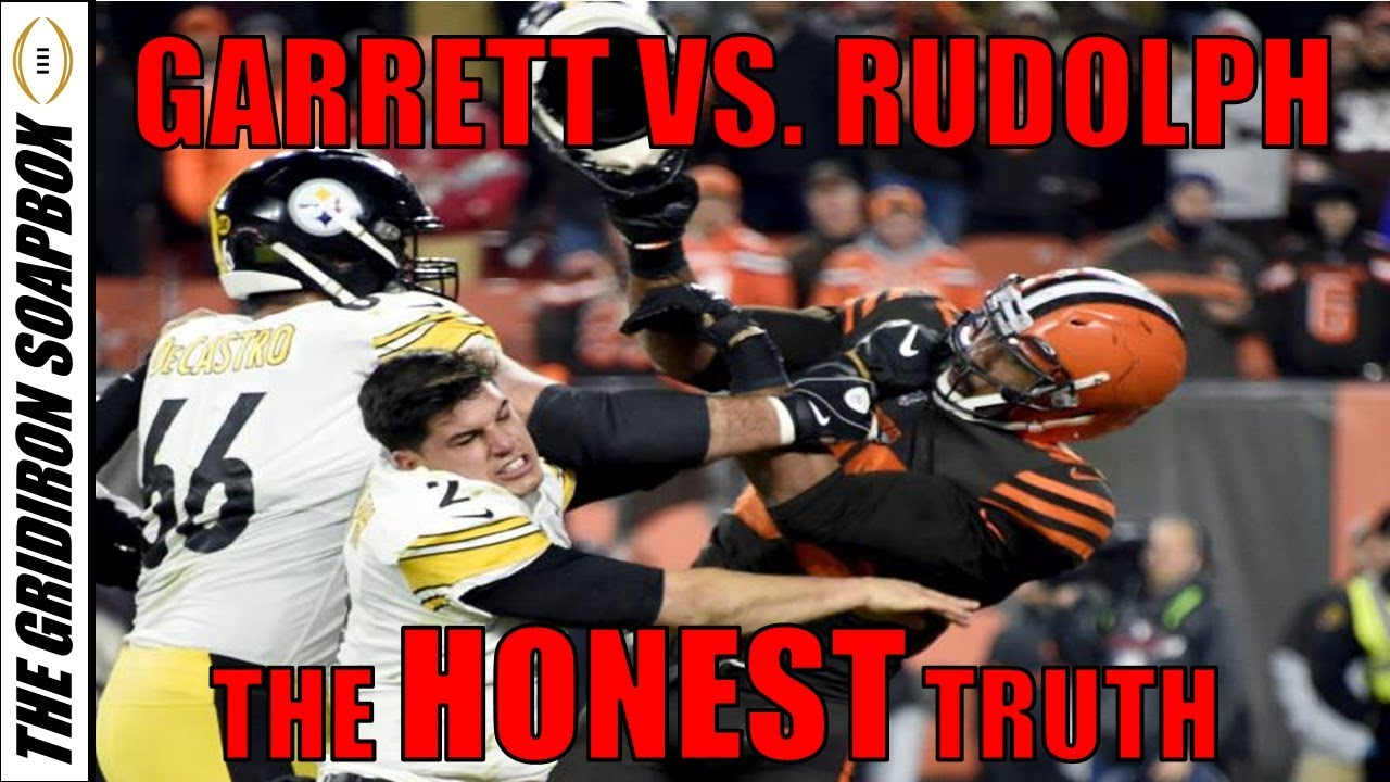 Myles Garrett Vs Mason Rudolph Fight The Honest Truth Youtube