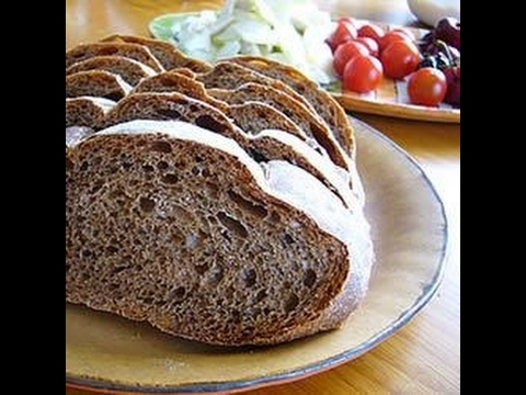 Easy Russian Black Bread Recipe Youtube