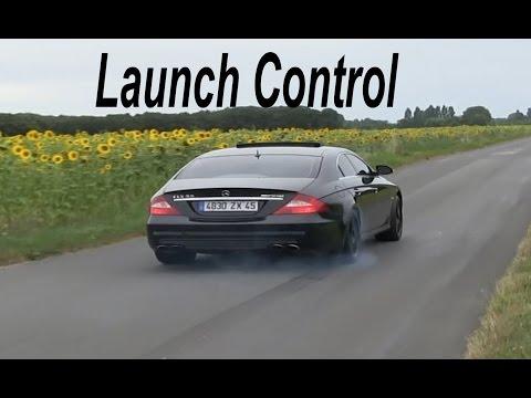 Mercedes CLS 55 AMG Kompressor Launch Control Acceleration Ride
