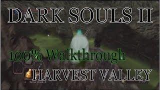 Dark Souls 2 100% Walkthrough #7 Harvest Valley ( All Items & Secrets)