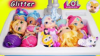 Shimmer and Shine Kitchen Sink Rescue Game thumbnail