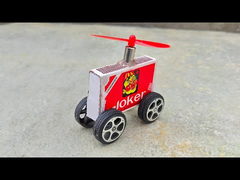 How To Make A Helicopter Matchbox Helicopter Toy Diy