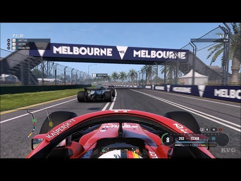 F1 2018 Gameplay (PC HD) [1080p60FPS]