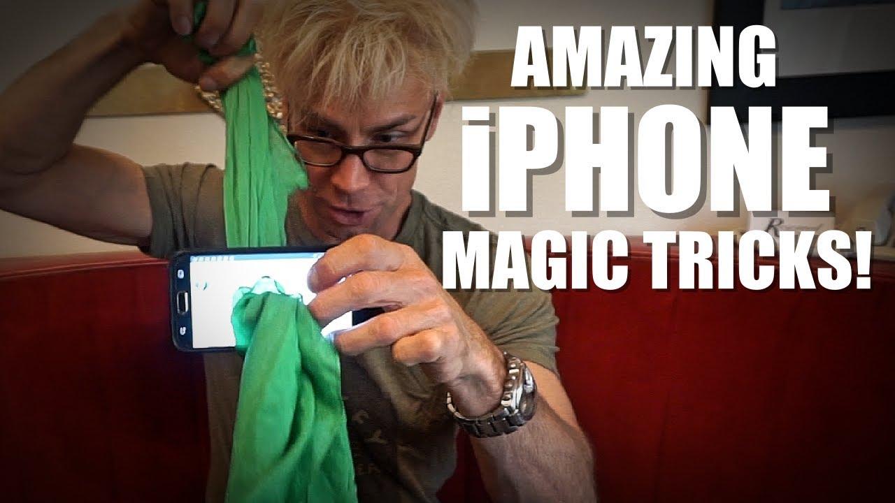 a magicians tricks