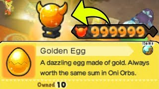 What Happens When You Get 999,999 Oni Orbs? | Golden Oni Orb Tutorial in Yo-kai Watch Blasters!