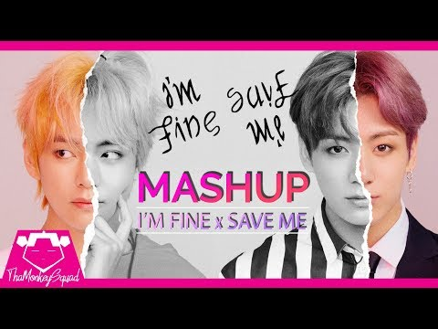 BTS (방탄소년단) - I'M FINE x SAVE ME [Mashup] remix Full Version