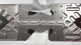 Five-point Alignment System On Alfa Laval Gasketed Plate Heat Exchangers