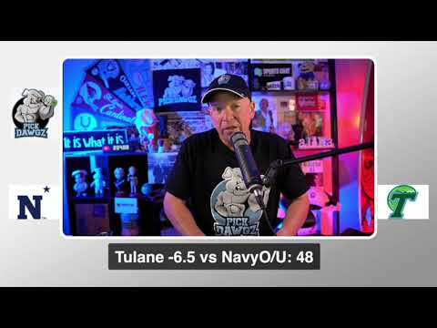 Tulane vs Navy 9/19/20 Free College Football Pick and Prediction  CFB Tips Week 3 NCAAF Betting