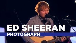 ed sheeran photograph capital fm session