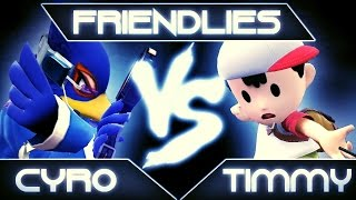 SSB4: Cyro (Falco) vs. Timmy (Ness)