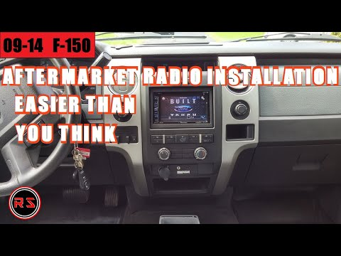 2013 Ford F-150 Aftermarket Radio Installation/ Keep Every Factory Options