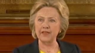 Hillary Clinton - Reptilian Shape Shifting Video Clip (Aliens are Real)