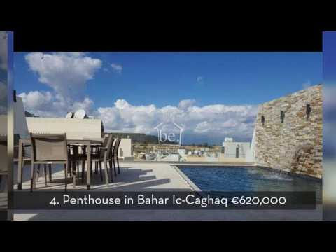 Top 5 Penthouses with Pool in Malta
