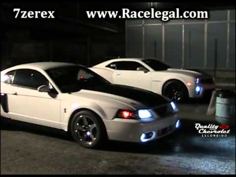 2012 camaro zl1 vs 2003 mustang cobra drag racing. Black Bedroom Furniture Sets. Home Design Ideas