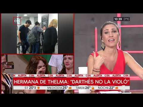 La hermana de Thelma Fardin afirmó en un reportaje: 'Darthés no la violó'