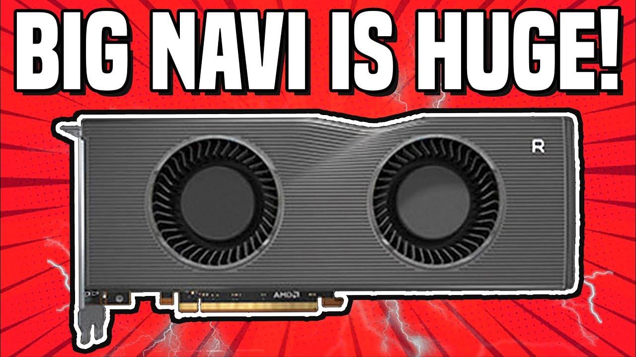 Big Navi Is HUGE = 2X POWER OF RX 5700XT! Navi 21, Navi 22 & Navi 23 LEAKED! Specs, Release Date!