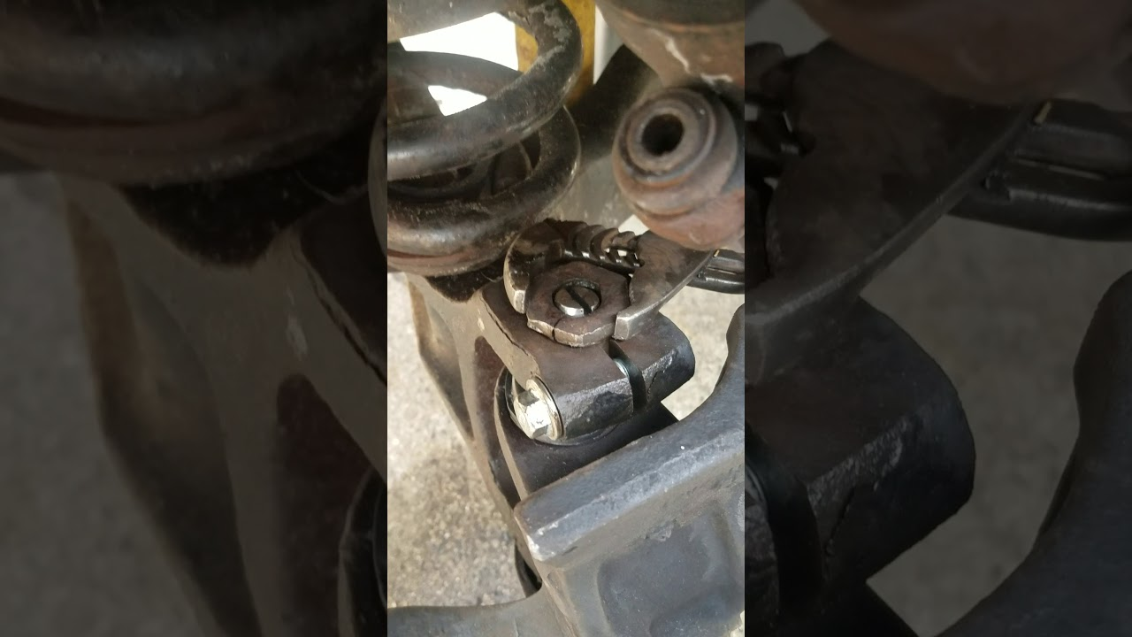 Ford e250 upper and lower ball joint adjustment