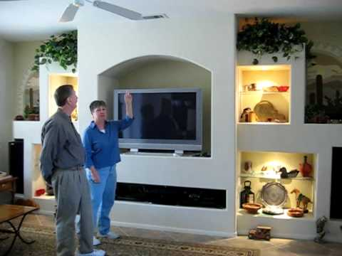 Unique Designs Entertainment Center Media Wall Specialist YouTube