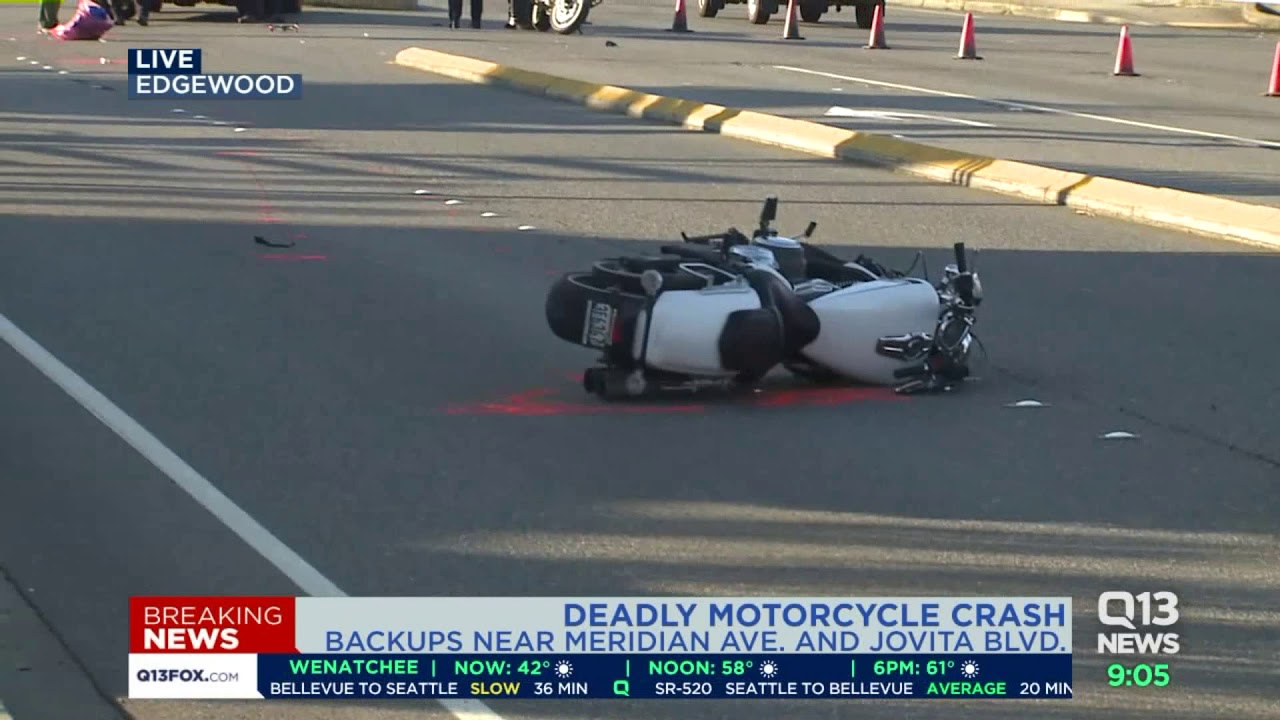 Motorcyclist killed in crash with SUV in Edgewood