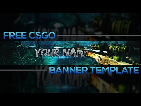 how to make a csgo banner