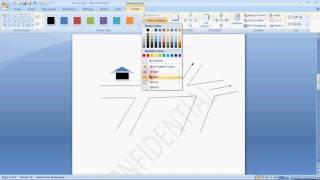 Gampang Buat Denah Lokasi Dengan Microsoft Office Word