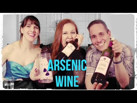 People Try 6 Arsenic Containing Wines From California!