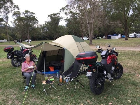 Motorcycle Camping - What 2 Old People Take
