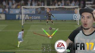 FIFA 17 - ENGAÑANDO EN LOS PENALTIES ONLINE OMG! - MI PRIMER PARTIDO ONLINE