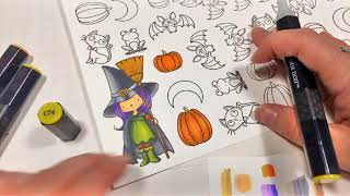 MFT's Witch Way is the Candy Speed Coloring