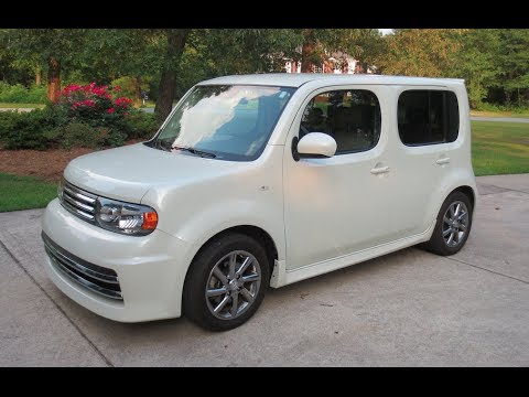 2010 Nissan Cube Krom Full Tour, Start-up & Review