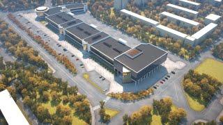 Архитектурная 3D Анимация торгового центра Север(, 2013-10-09T23:38:35.000Z)