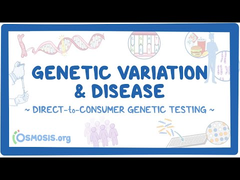 Genetic Variation and Disease ~Direct-to-Consumer Genetic Testing~