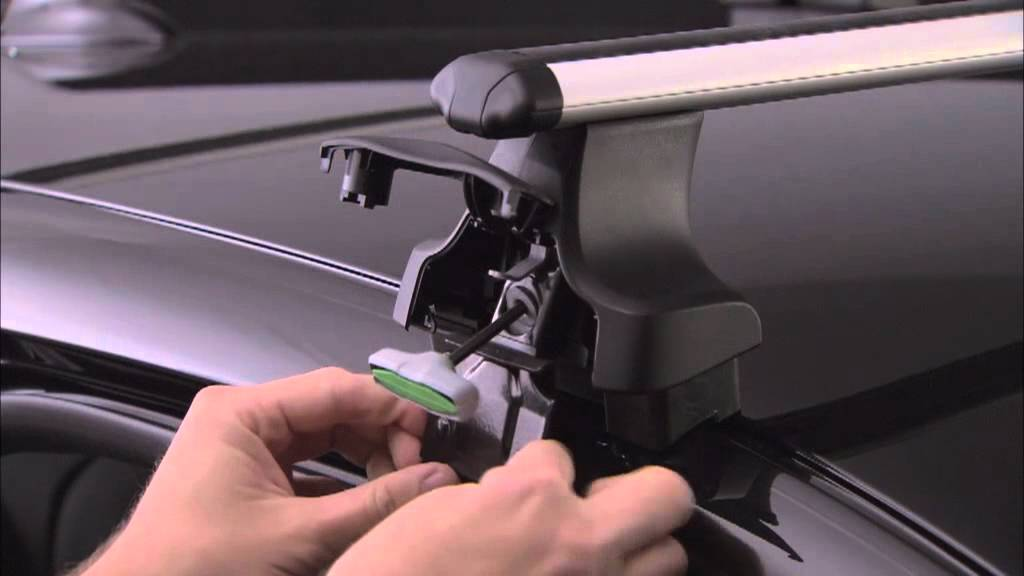 Thule Rapid System 754 Escadra Youtube
