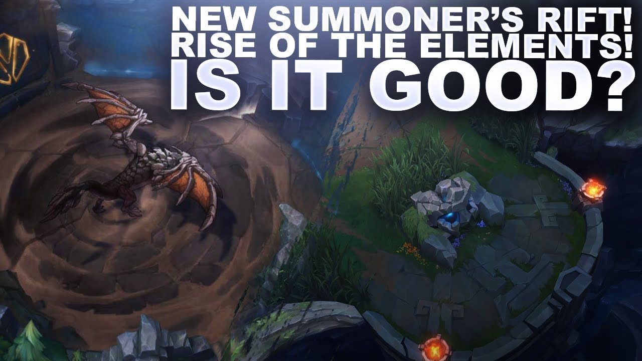 NEW SUMMONERS RIFT IS COMING! IS IT GOOD? | League of Legends thumbnail