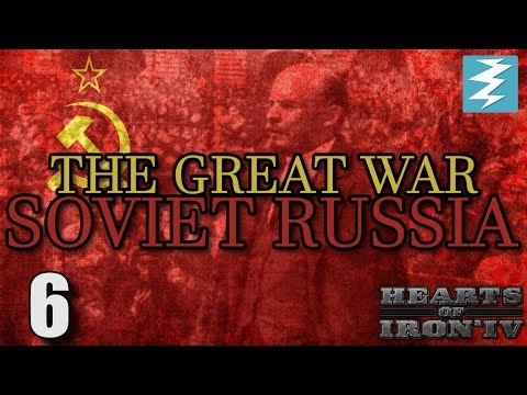 COMMUNIST REVOLUTION !!! [6] The Great War Mod - Hearts of Iron 4 HOI4 Paradox Interactive