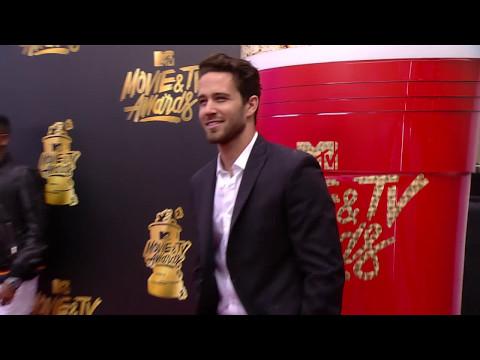 Trevor Holmes on the Red Carpet at the 2017 MTV Movie & TV Awards