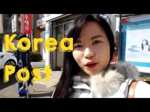 Travel with Karla goes to Korea Post