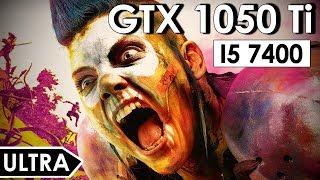 Rage 2 GTX 1050 Ti + i5-7400   Ultra Settings 1080p