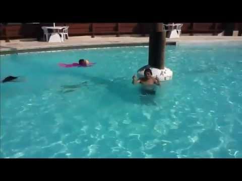 Annabelle swimming lesson June 2013